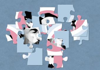 Ein Gemälde als Puzzle